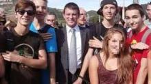 Valls au milieu des quenelles